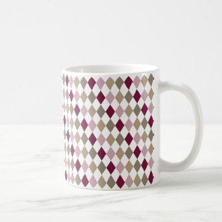 Chic Pink Gold Diamonds Coffee Mugs