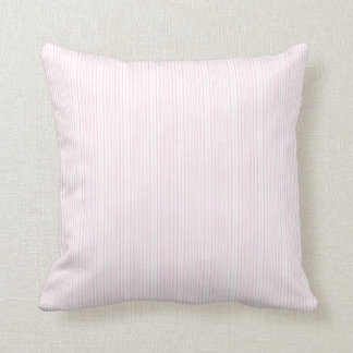 Chic Pink Stripe Accent Pillow