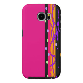 CHIC PINK TRIM PROFESSIONAL-GALAXY S6 Samsung Samsung Galaxy S6 Cases