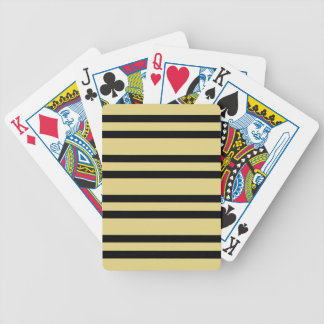 CHIC PLAYING CARDS_09 BUTTER STRIPES. DIY POKER DECK