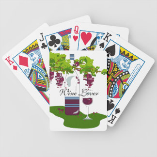 CHIC PLAYING CARDS_WINE LOVER POKER DECK