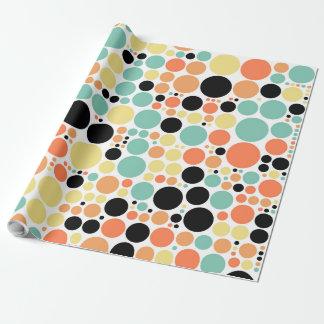 Chic Polka Dot Mosaic Pattern