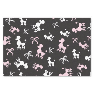 Chic Poodles Tissue Paper