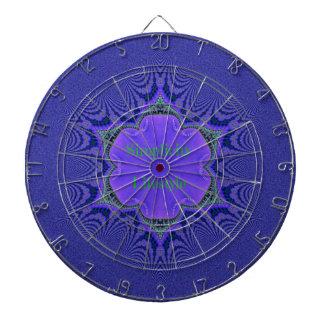 Chic Purple Lavender 'Simplicity Lifestyle' Dartboard