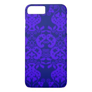 Chic Purple Paisley Pattern iPhone 7 Plus Case