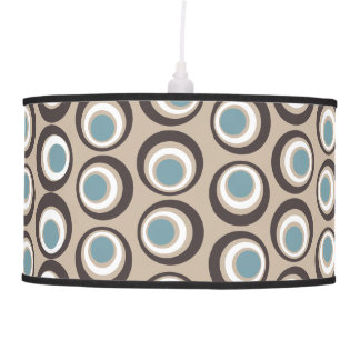 Chic retro style circular pattern ceiling lamps