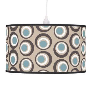 Chic retro style circular pattern pendant lamp