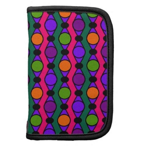 Chic Rings and Dots Pattern - Multi Folio Planner