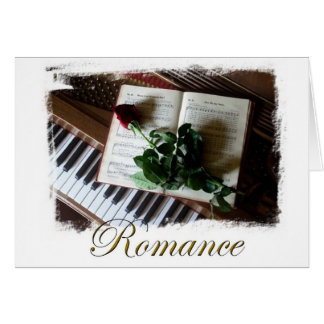 Chic Romance Note Card