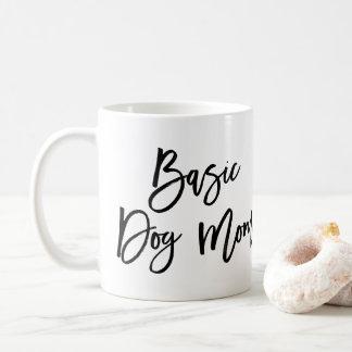 Chic Script Basic Dog Mom Mug