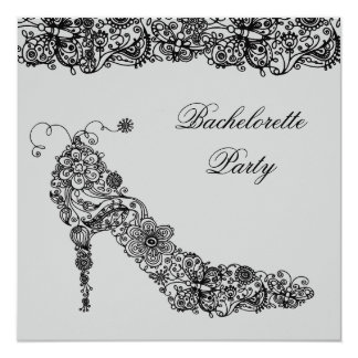 Chic Shoe ~ Invitations