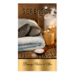 Chic Simple and Clean Spa Card Business Card