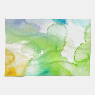 Chic Simple Beautiful Abstract Watercolor Pattern Towel