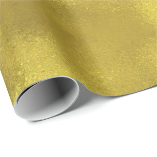 Chic Sparkling Gold Wrapping Paper
