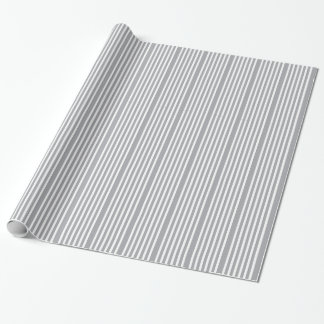 Chic Stripes Design Wrapping Paper
