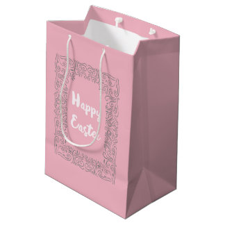 Chic Style Floral Easter Gift Bag