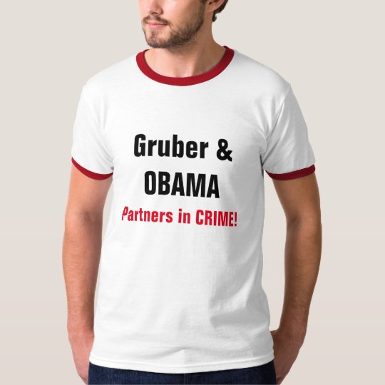 "CHIC T-SHIRT_ ""Gruber & OBAMA"" T-Shirt"