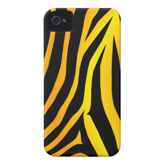 Chic Tiger Print iPhone 4 Case
