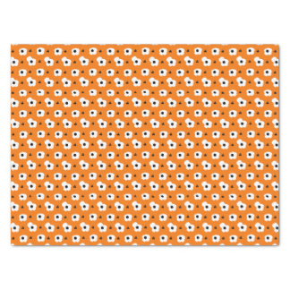 CHIC TISSUE PAPER_MOD WHITE & BLACK POPPIES. DIY TISSUE PAPER