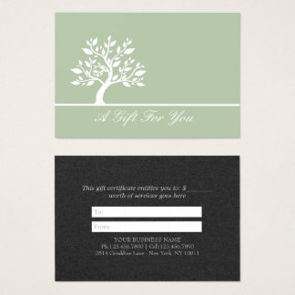 Chic Tree YOGA Fitness Instructor Gift Certificate