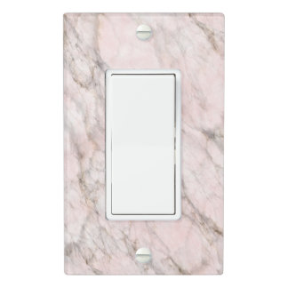 Chic Trendy Marble Stone Texture Pattern Light Switch Cover