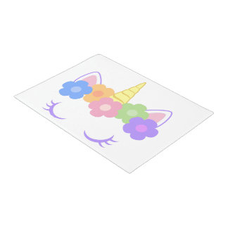 Chic Unicorn Doormat