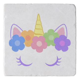 Chic Unicorn Trivet