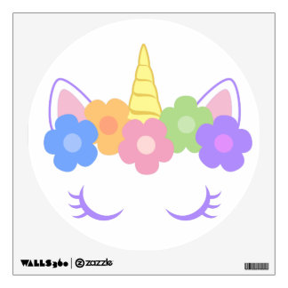 Chic Unicorn Wall Sticker
