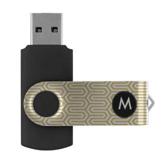 Chic USB Flash Drive - Geometric Pattern