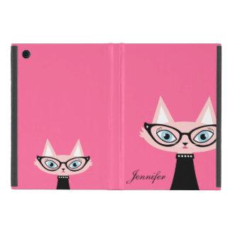 Chic Vintage Cat iPad Mini Powis Case - Pink