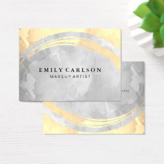 Chic Watercolor Business Card
