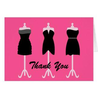 Chic Wedding Bridesmaid's Thank You Card