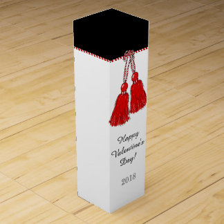 CHIC WINE BOX_ HAPPY VALENTINE'S DAY! 2018 WINE BOX