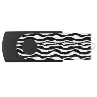 Chic Zebra Print USB USB Flash Drive