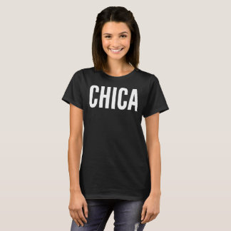 Chica Text Typography T-Shirt