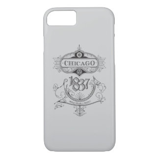 Chicago 1837 Vintage iPhone 7 Case
