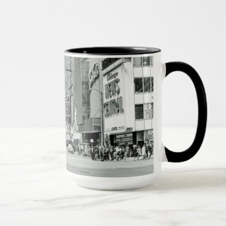 Chicago 1960's Randolph St Oriental Theater Photo Mug