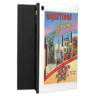 Chicago #2 Illinois IL Old Vintage Travel Souvenir iPad Air Case