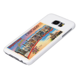 Chicago #2 Illinois IL Old Vintage Travel Souvenir Samsung Galaxy S6 Cases
