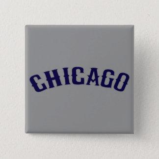 Chicago 2 Inch Square Button