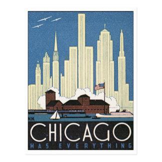 Chicago a tout carte postale