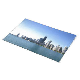 Chicago Across the Lake Placemats
