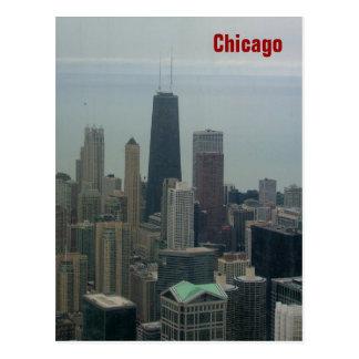 Chicago and Lake Michigan Postcard