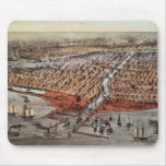 Chicago As it Was, c.1880 Mouse Pad