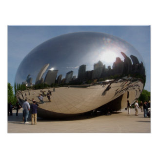 Chicago Bean Poster
