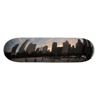 Chicago Bean skateboard