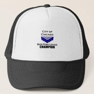 Chicago Beer Pong Champion Trucker Hat