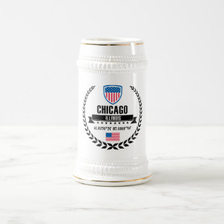 Chicago Beer Stein