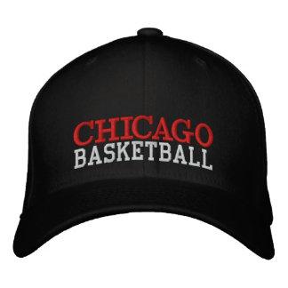 CHICAGO Black Basketball Cap