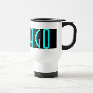 CHICAGO BLACK TRAVEL MUG